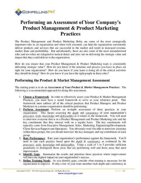 Company Introduction Letter Doc introduction to performing an assessment of your company s