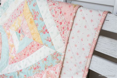 Custom Handmade Quilts - vintage floral custom quilt 187 loganberry handmade