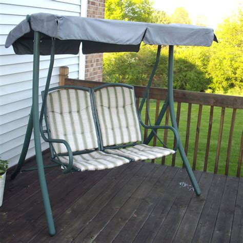 replacement canopy for 2 seater swing walmart 2 seater rus4860 replacement swing canopy garden winds