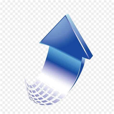 blue arrow gradient color arrow png image and arrow curve gradient euclidean vector gradient up curve