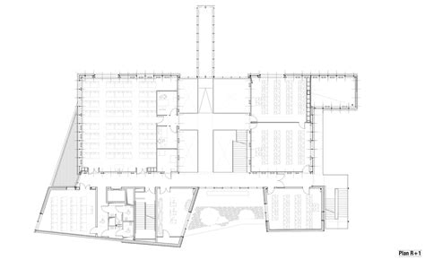architecture school floor plan gallery of strasbourg school of architecture marc mimram 8