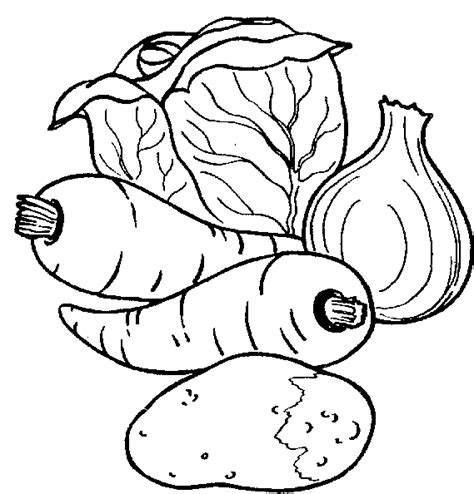 vegetables clipart black and white fruit and vegetable clipart black and white clipart