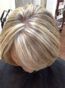 best low lights for white gray hair auburn base color with golden copper highlights service