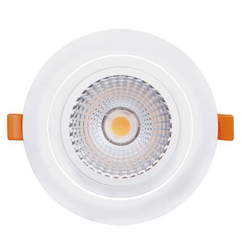 Lu Downlight Led led downlight building in movable 18w 4200k 220v neutral light cob ultralux