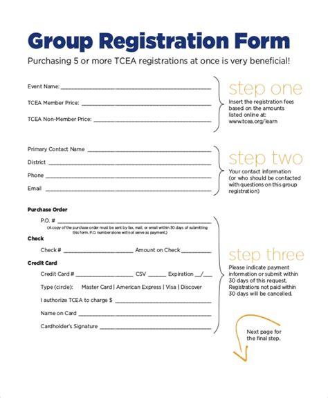 12 Sle Event Registration Forms Sle Forms Conference Registration Template