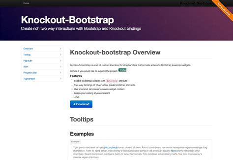 php knockout tutorial guide to bootstrap phpsourcecode net
