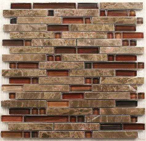 Mosaic Kitchen Tile Backsplash by Interlocking Stone Mosaic Tiles Glass Mosaic Kitchen