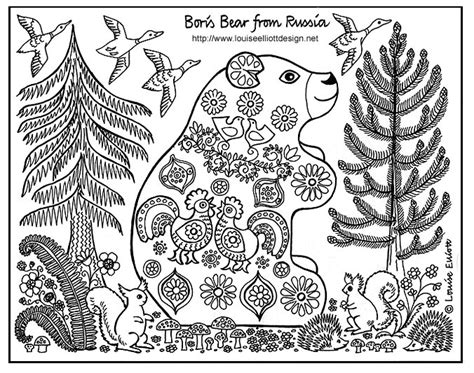 Animals From Around The World Coloring Pages Homeschool Animal Pattern Colouring Pages