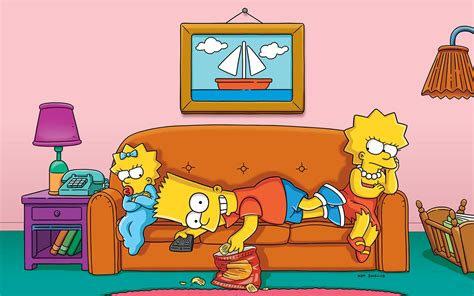 simpsons living room painting the science of siblings