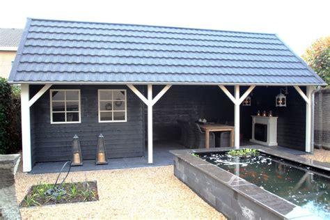 Veranda Kosten by Tuinhuis Met Veranda Linge 04 Afmeting 8 X 4 Meter De