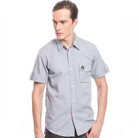 Kemeja Abu Abu Elegan Import Murah Cotton Shirt produk terbaru dari www eobral hem pria keren warna abu abu gsh 66 kode gt gsh 66 harga gt rp