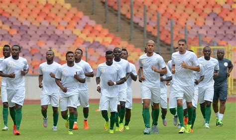Backroom Russian by Eagles Squad For Caf Nations Chionship