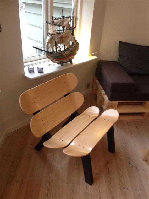 skateboard furniture the 25 best skateboard furniture ideas on recycled furniture skateboard room and
