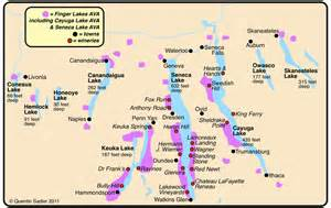 Finger Lakes New York Map by Foxy Terroir What Are Foxy Wines Quentin Sadler S