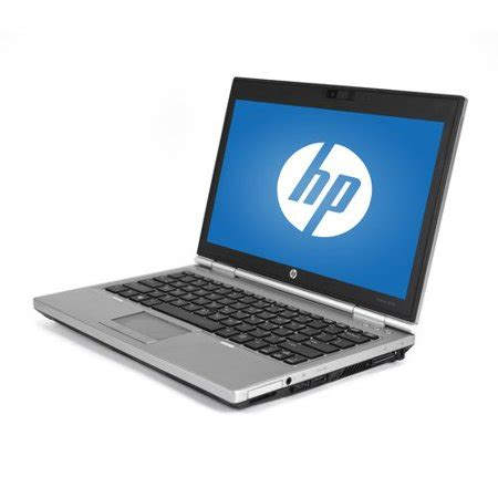 "refurbished hp silver 12.5"" 2570p elitebook laptop pc with"