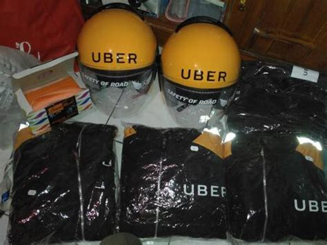 Kaos Baju Uber 4 jual promo minggu ini atribut uber official helm jaket