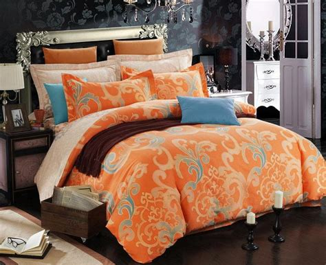 orange king size comforter orange duvet promotion shop for promotional orange duvet