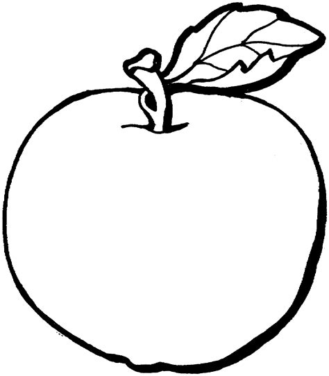 coloring apple clipart best coloring apple clipart best