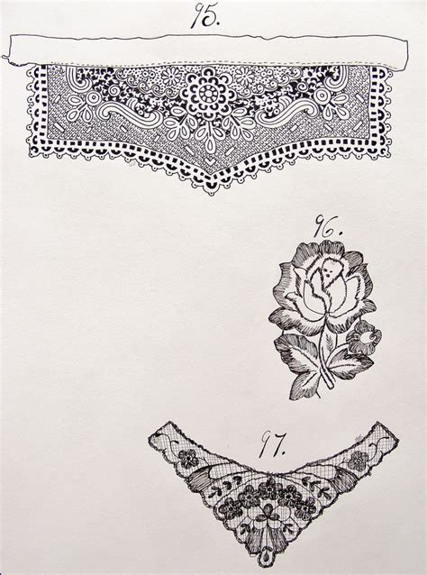 lace pattern sketch lace drawing drawing pinterest