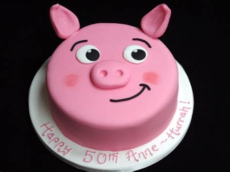 Pig Anniversary Cakeq coolest pig cake cake ideas and designs