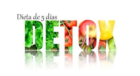 Dieta Detox Menu by Dieta Detox Dieta Desintoxicante Para Limpiar El Organismo