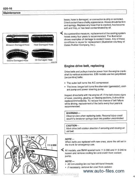 car repair manuals download 2001 bmw 5 series instrument cluster bmw 5 series e39 service manual pdf