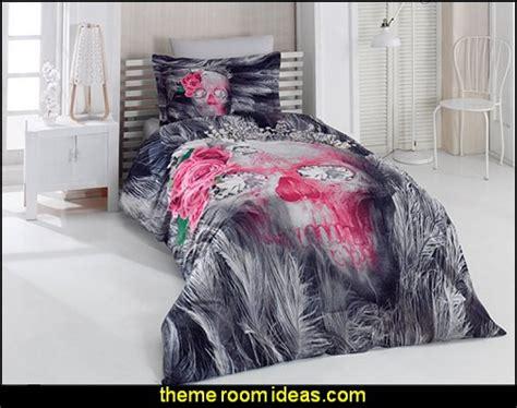 skull comforter set decorating theme bedrooms maries manor skull bedding