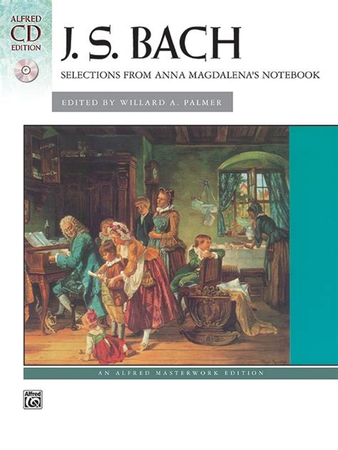 Js Bach Well Temperd Clavier Vol1 Alfred Ed magdalena s notebook selections from piano book