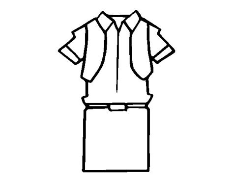 boy school uniform coloring page coloringcrew com