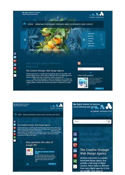 Do S And Don Ts Of Responsive Web Design Fluid Website Templates