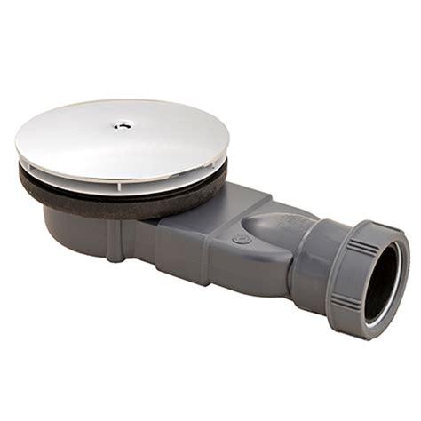 dusche siphon flach macdee slim 216 90 mm wastes chrome abs dome waterless