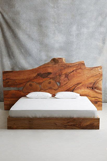 live edge headboard live edge wood king beds and beds on pinterest