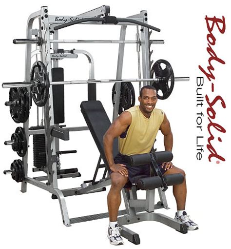 solid series 7 smith machine package system gs348qp4