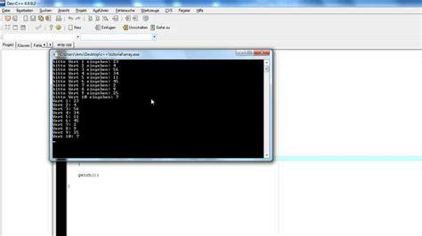 tutorial c array tutorial c arrays deutsch funnycat tv