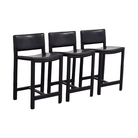 room and board bar stools black leather bar stools stools tempo black faux leather bar stool atlanta black faux leather