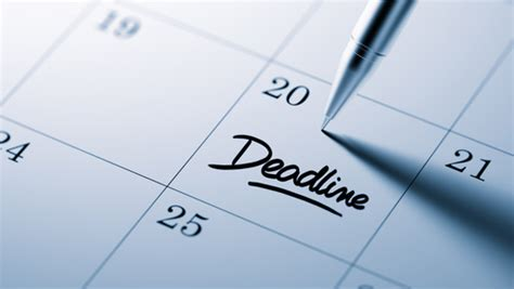 Deadline Oregon State Mba by Don T Miss Oregon S Deadlines To File A Personal Injury Claim