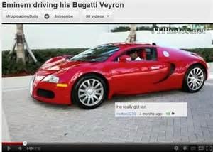Eminem Bugatti Eminem Driving His Bugatti Veyron