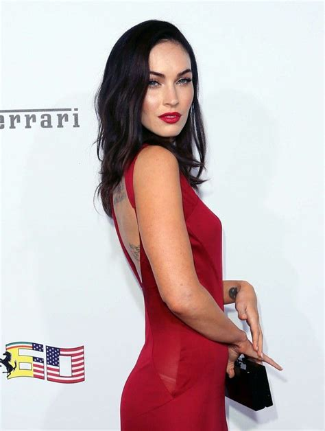 Versace Dress On Megan Fox In A Poster by 1000 Images About Megan Fox On Hair