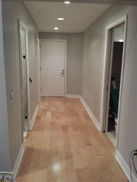 light gray hardwood floors engineered maple flooring with quot dolphin fin quot gray behr