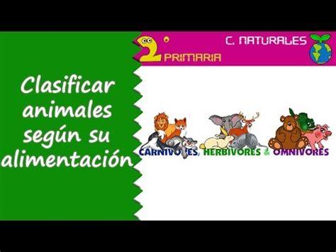 imagenes de animales por su alimentacion ciencias de la naturaleza 2 186 primaria tema 4