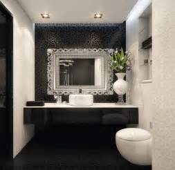 Black And White Bathrooms Ideas Black White Bathroom Design By Geometrix Interior Design
