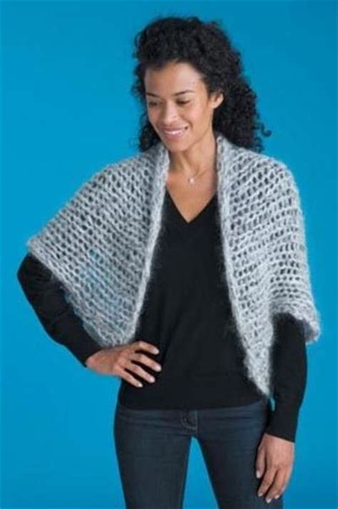 free knitted shrug and bolero patterns cocoon shrug free knitting pattern knits and kits