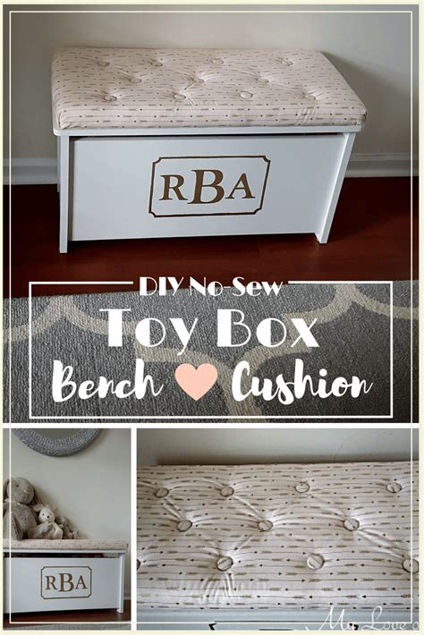 diy toy box bench my love of style diy fashion decor and crafts