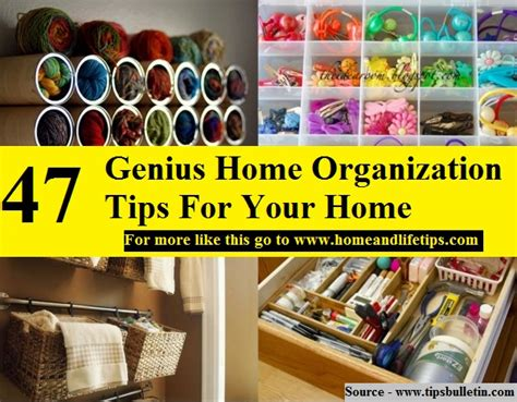 home genius 47 genius home organization tips for your home home and