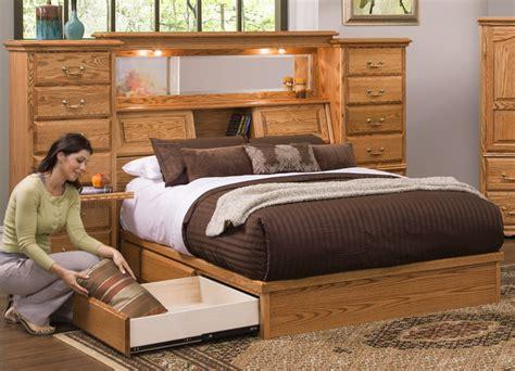Bedroom Set With Drawers Bed by Bedroom Furniture Adjustable Bed Drawer Pedestal