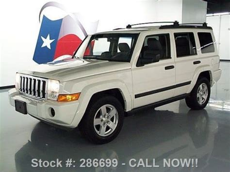 2006 Jeep Commander Roof Rack Find Used 2006 Jeep Commander 7pass Nav Roof Rack Park