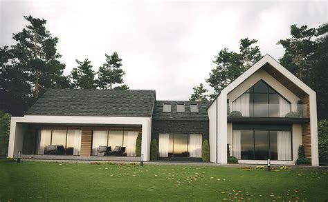 modern home design uk dromintee modern house architects newry slemish design