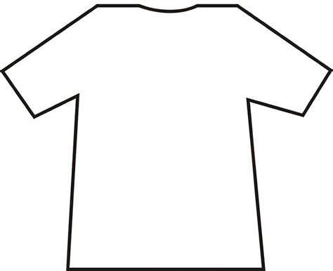full size t shirt template choice image templates design