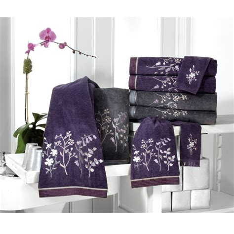 purple and grey bathroom sets decorative bath and hand towels dream home things