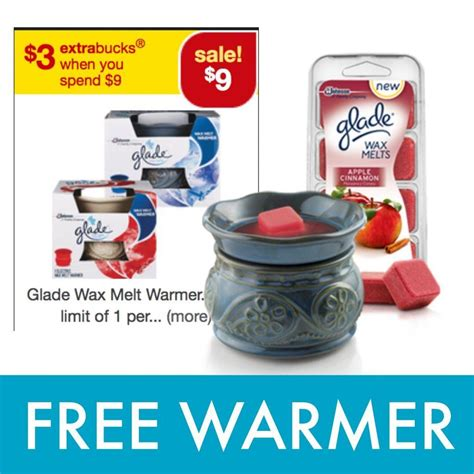 glade wax warmer manufacturer coupon